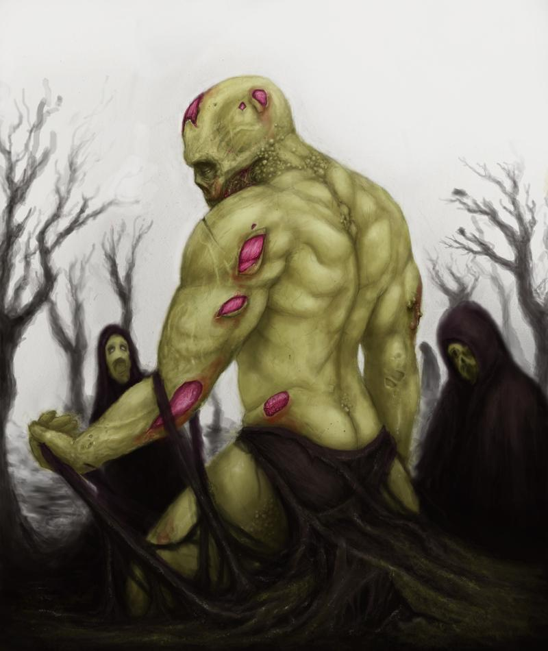 Artwork of Undead Swamp Zombie