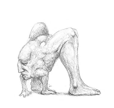 Headleg Creature Drawing