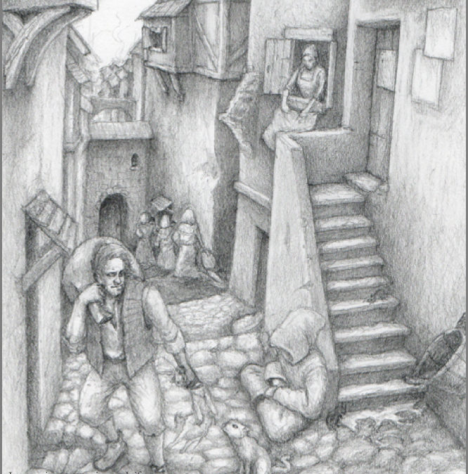 What is the real Mary Kings Close in Edinburgh (art)