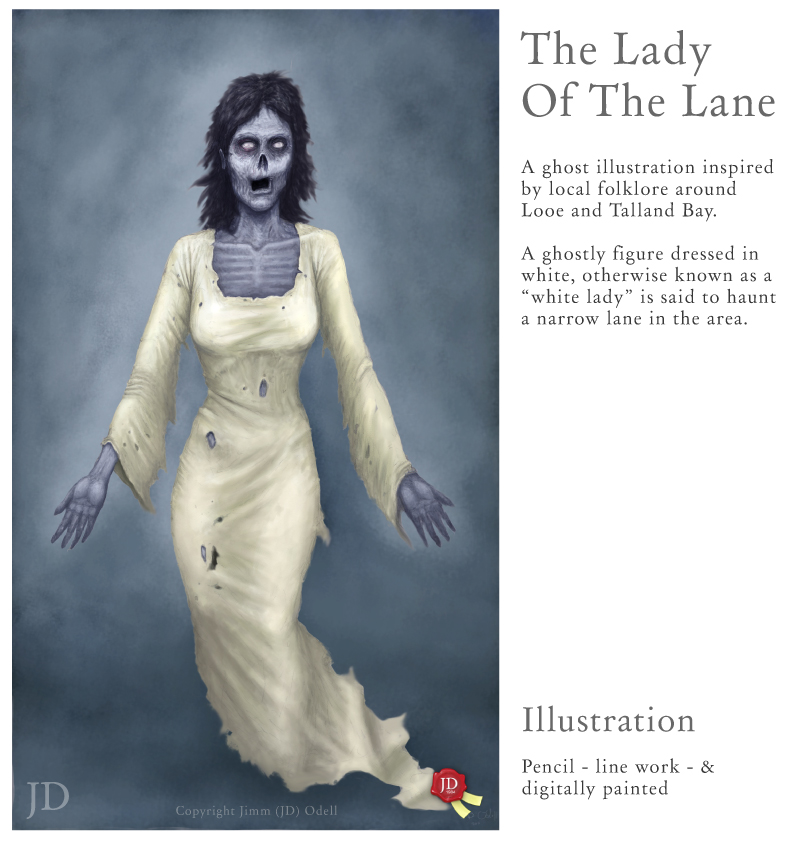 ghost stories of talland bay Lady of the Lane