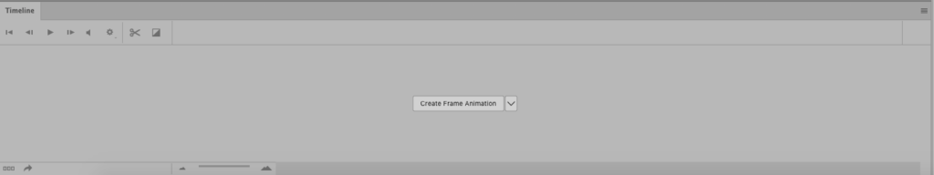 how to make a simple 2 frame gif - Timline