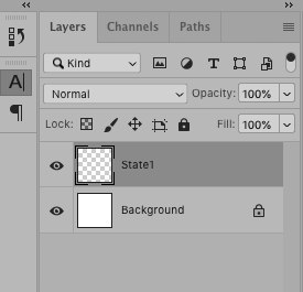 Photoshop layers for gif animation